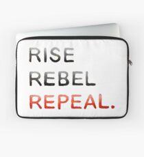 RISE REBEL REPEAL. Laptop Sleeve