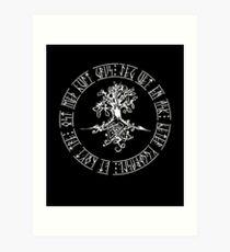 Yggdrasil - Norse Baum des Lebens Kunstdruck