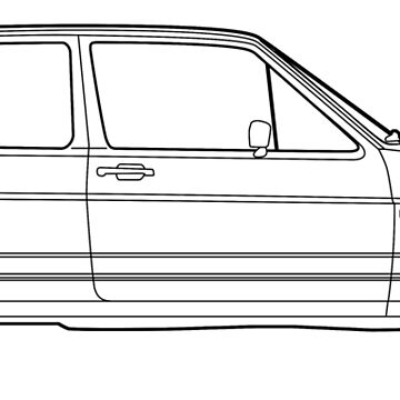 MK2 Golf GTI 1984-87 (Black) by fozzilized