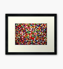 My Sugar Is Raw Framed Print