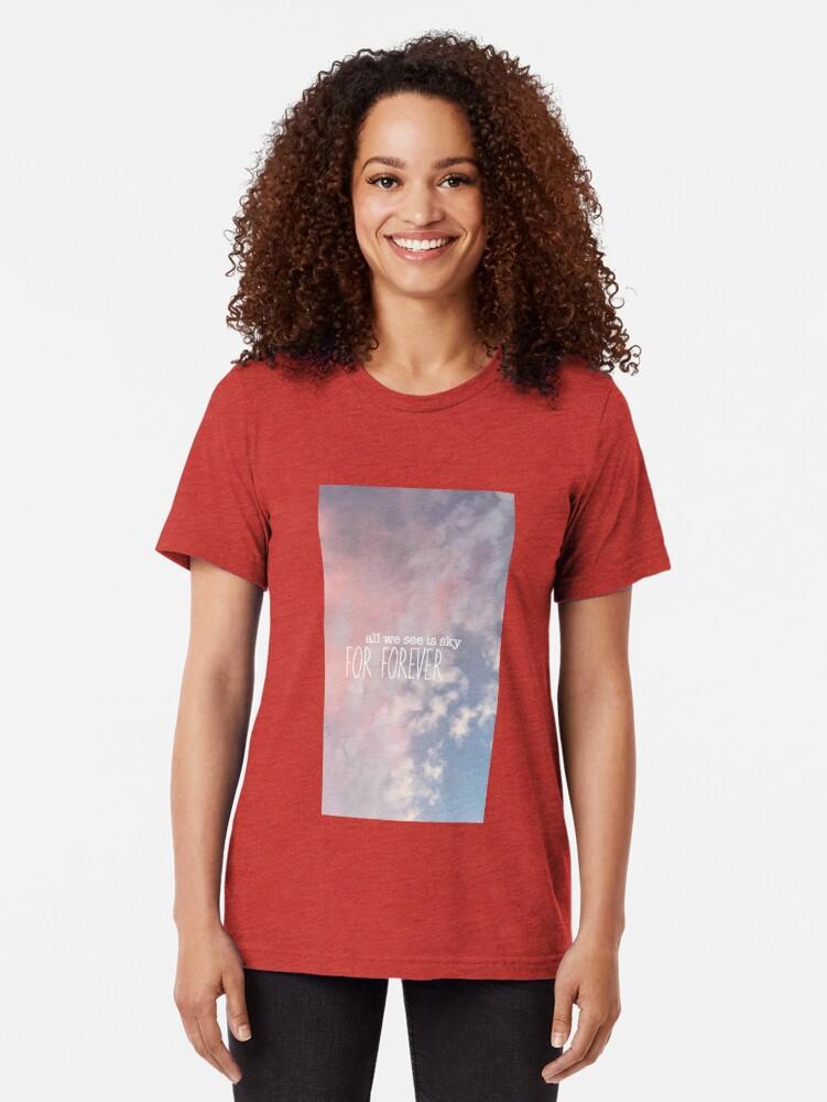 Alternative Ansicht von Alles, was wir sehen, ist Himmel für immer Design Vintage T-Shirt
