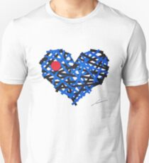 Leather Heart Unisex T-Shirt