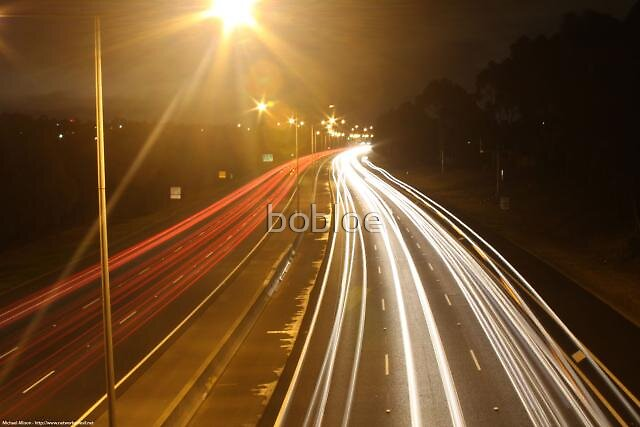 Long Exposure shot from the Eastern Freeway (Melbourne, Vic, Australia) by bobloe