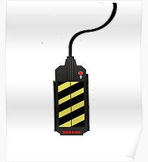 Cool Ghostbusters Trap Design - Tees, phone cases and more! Poster