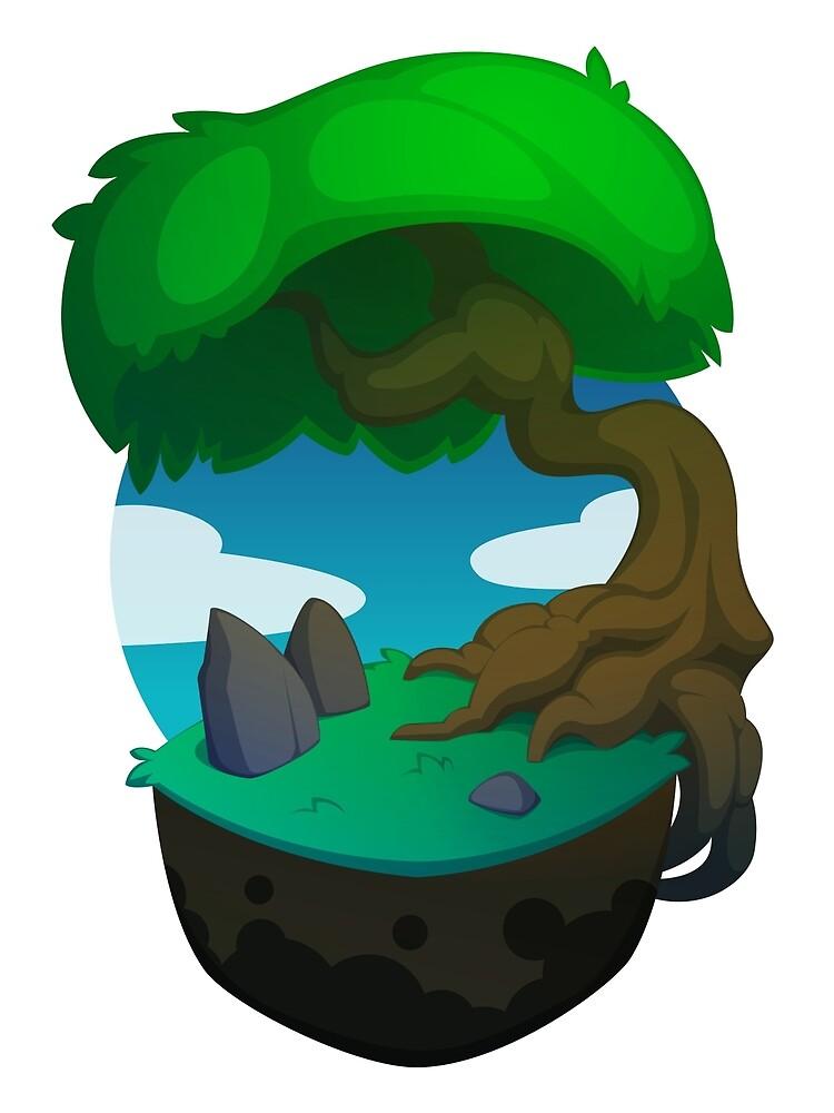 Green Tree Block by L James