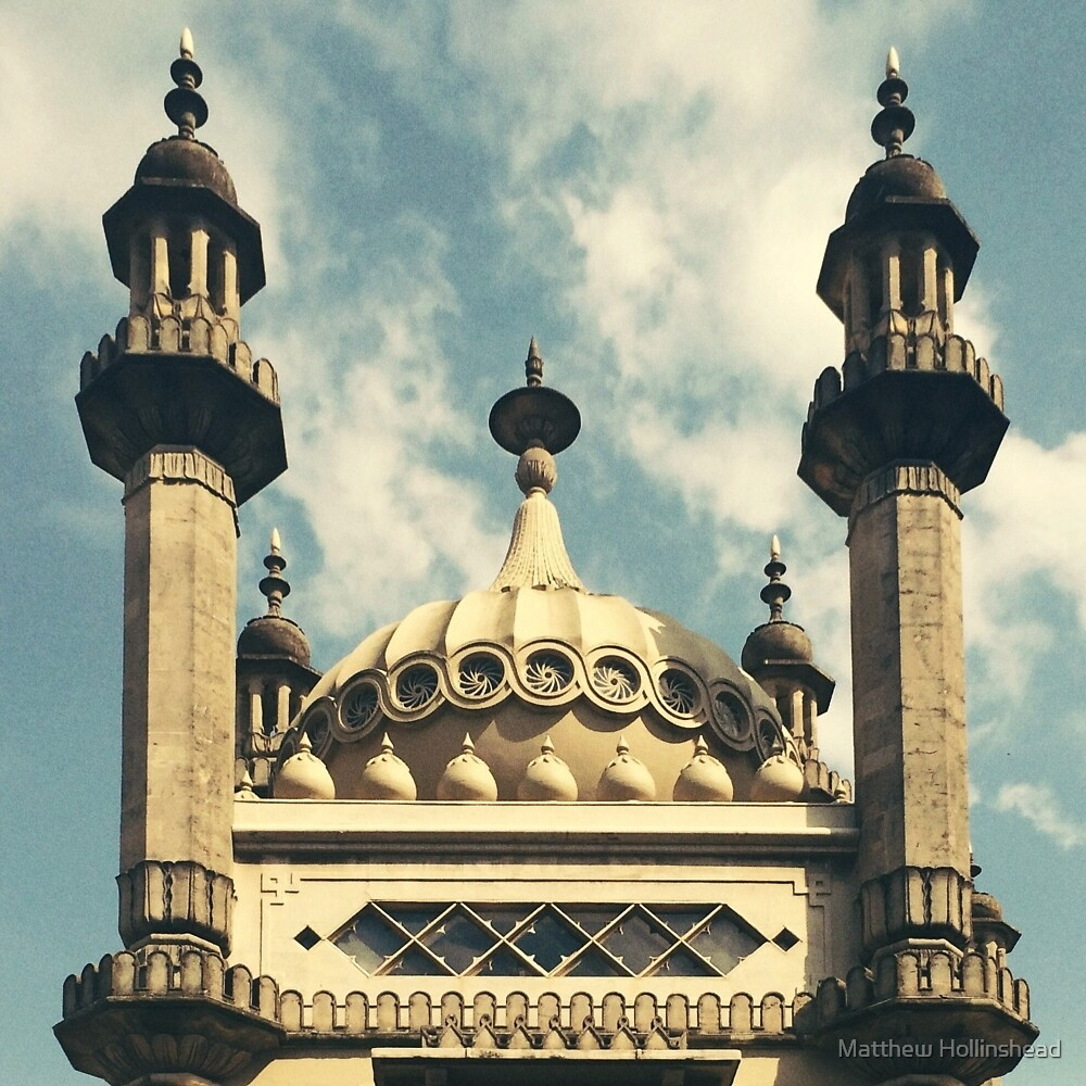 Brighton Pavilion by Matthew Hollinshead
