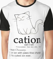 Cat-ion science puns Graphic T-Shirt