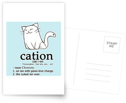 Cat-Ion Science-Wortspiele von linkitty