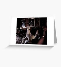 Castle Ghosts Greeting Card
