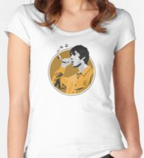 Liam Gallagher Oasis Women's Fitted Scoop T-Shirt