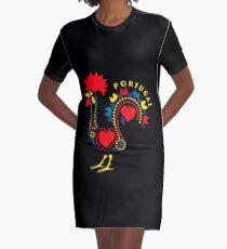 Rooster - Portugal Graphic T-Shirt Dress