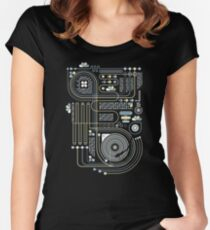 Circuit 02 Women's Fitted Scoop T-Shirt