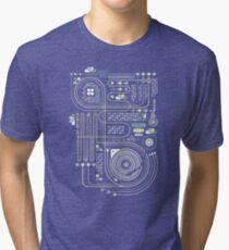 Circuit 02 Tri-blend T-Shirt