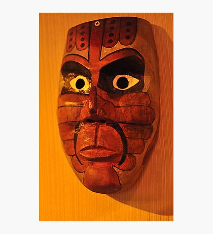 Calusa Ceremonial Mask Photographic Print