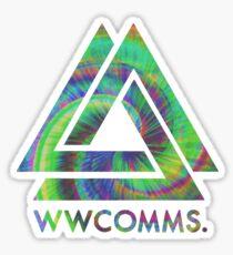 Bastille - 'WWCOMMS' Chaos Planet Sticker