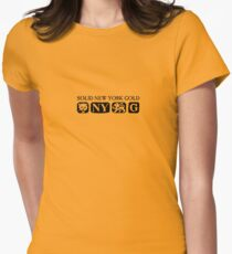 City of Gold Womens Fitted T-Shirt
