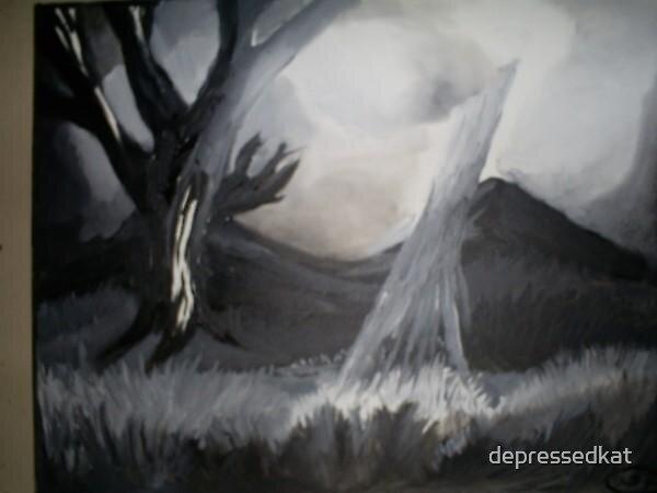 A Shining Light by depressedkat