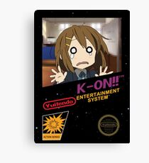Yuitendo Entertainment System- K-On!! Canvas Print