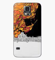 Monaco, Skyline Map Case/Skin for Samsung Galaxy