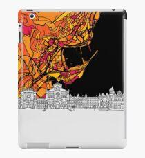 Monaco, Skyline Map iPad Case/Skin