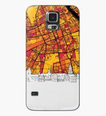 Warsaw, Poland, Skyline Map Case/Skin for Samsung Galaxy
