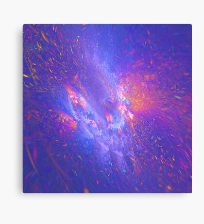 Galactic fractals Canvas Print