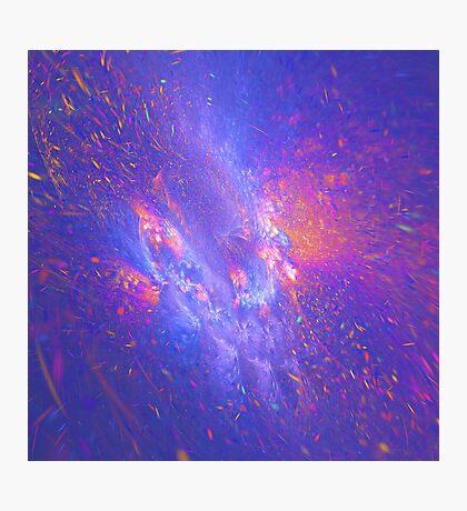 Galactic fractals Photographic Print
