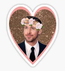 Hey Gosling Girl Sticker