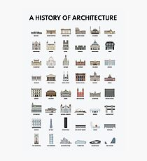 A History of Architecture Photographic Print
