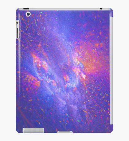 Galactic fractals iPad Case/Skin
