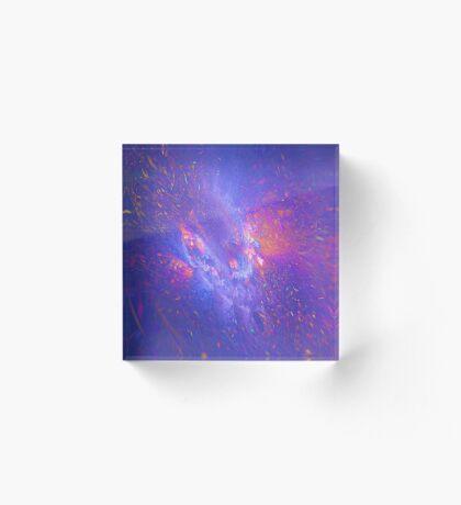Galactic fractals Acrylic Block