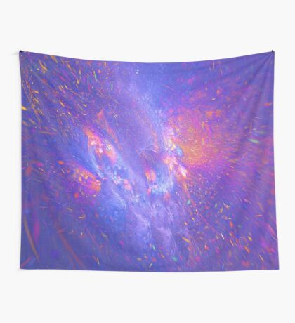 Galactic fractals Wall Tapestry
