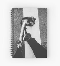 Yours truly. Spiral Notebook