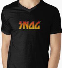 SNOG Mens V-Neck T-Shirt
