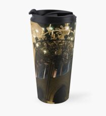 Notre Dame at Night Travel Mug