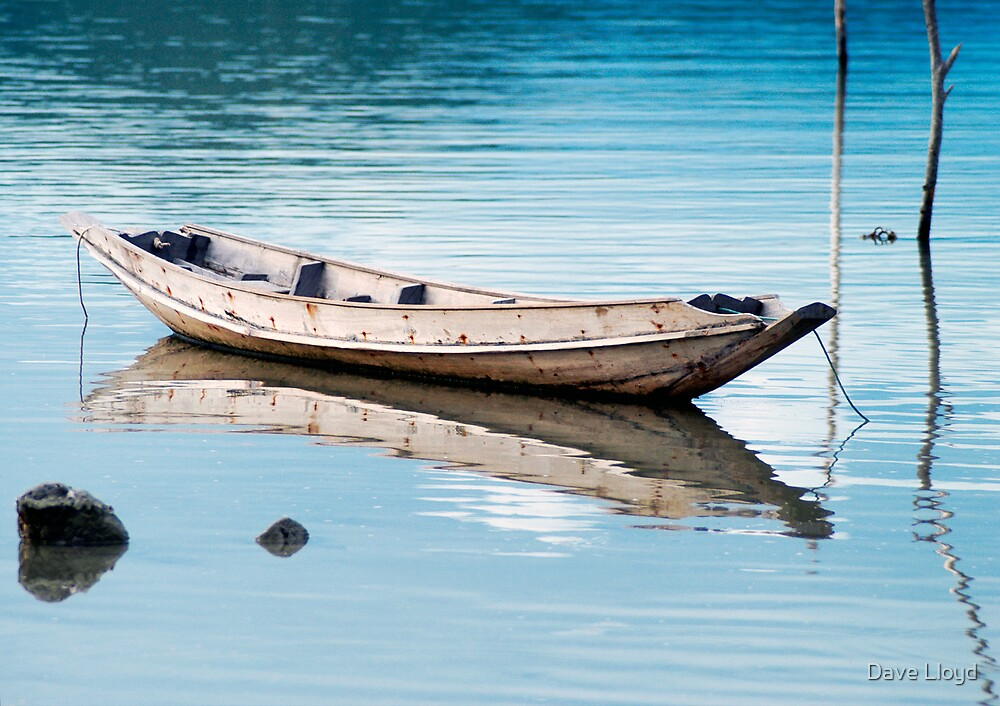 Reflected Boat by Dave Lloyd