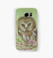 Saw Whet Owl Samsung Galaxy Case/Skin