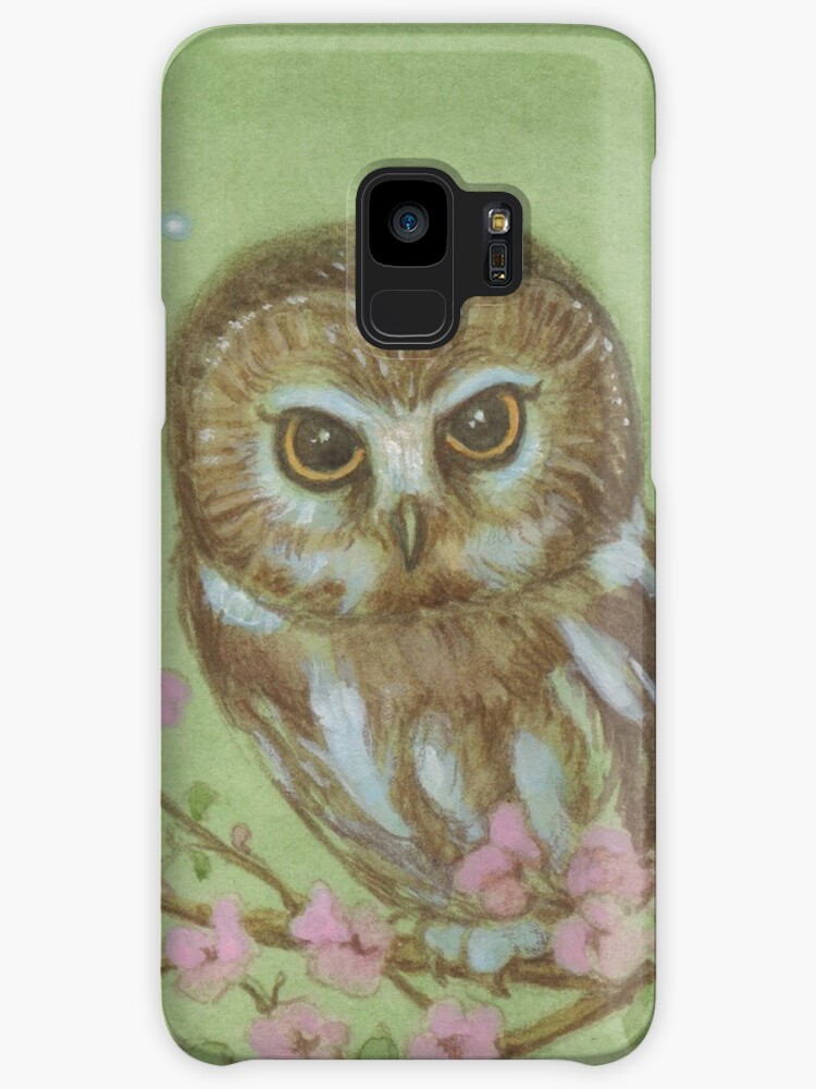 Saw Whet Owl by JamesBrowneArt