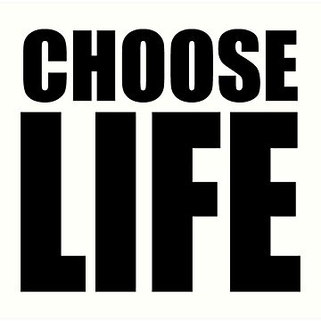Choose Life by GaBe141