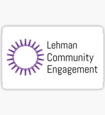 Lehman People Logo Sticker