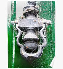 Old Door Knocker, Glenveagh Castle, Donegal, Ireland Poster