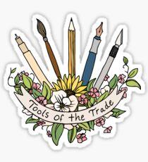 Werkzeuge des Handels Sticker