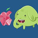 How's That Apple? - Tree Trunks by Alex Clark