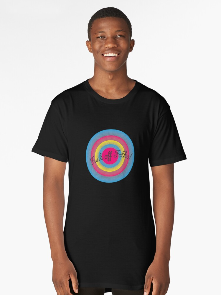 THIS FOR YOU! Long T-Shirt Front