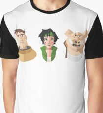 Jade & the gang Graphic T-Shirt