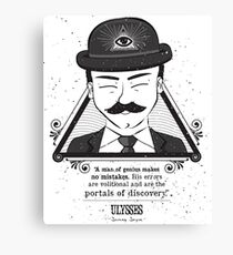 Ulysses - Man of Genius Canvas Print