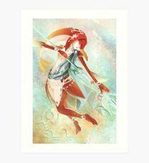 BotW: Mipha Art Print