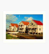 Sail Lofts Art Print
