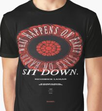 Kendrick Lamar What Happens On Earth Stays On Earth Graphic T-Shirt