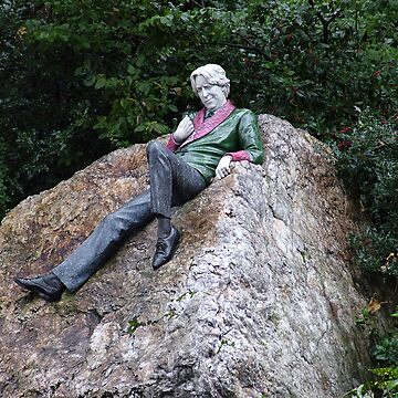 Oscar Wilde in Merrion Square by pauge